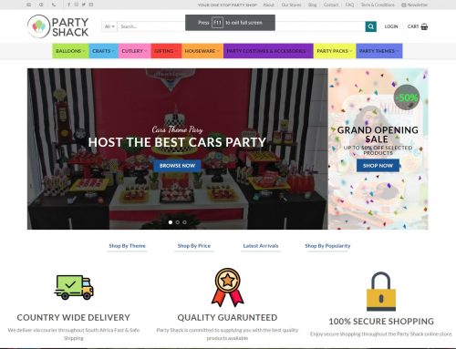 Party Shack Online Store