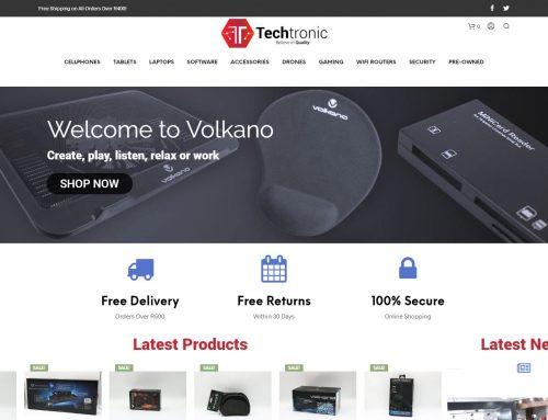 Techtronic Online Store